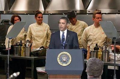 Obama-Top Chef