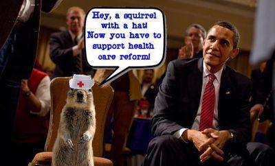 Sammy The Health Care Squirrel