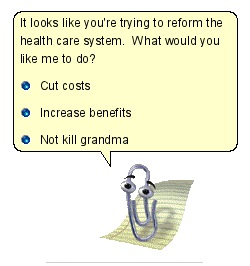 Clippy Takes On Health Care