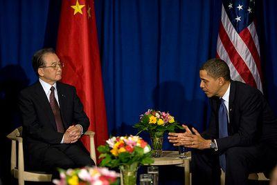 Wen Jiabao Copenhagen Meeting