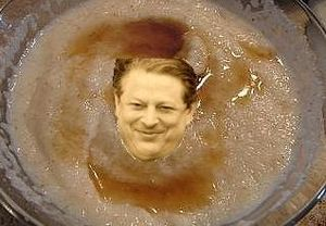 Al Gore in Bowl of Wheatena
