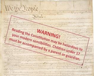 Warning Constitution
