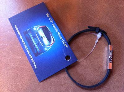Nissan Leaf Recycled Bracelet