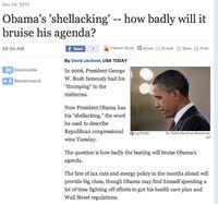 Obama Shellacking