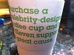 Celebrity Coffee Cup