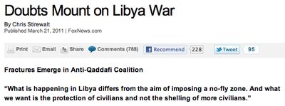 Doubts Mount on Libya