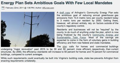 Arlington Energy Plan