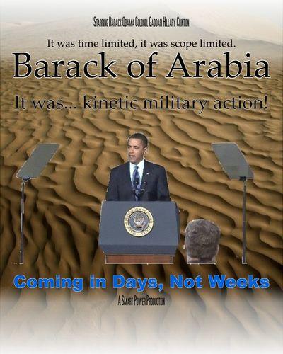 Barack of Arabia