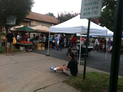 Del-Ray Farmer's Market 20110827