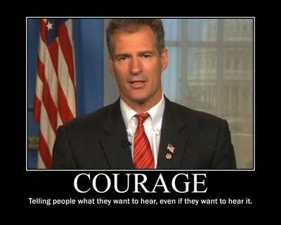 Scott Brown Courage