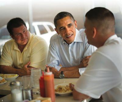 A President Who Eats Breakfast