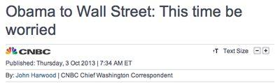 Wall Street Panic