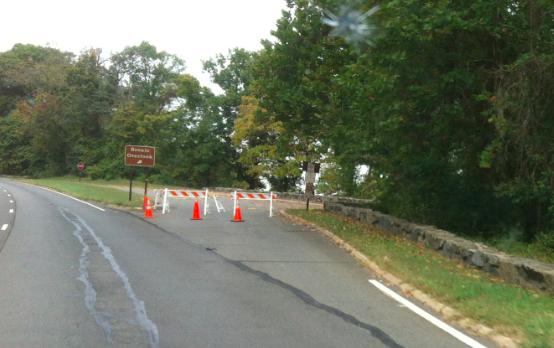 Double Barricaded Scenic Overlook GW