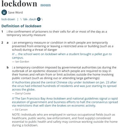 Lockdowns Don't Work 1
