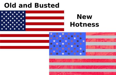 American flag Cover